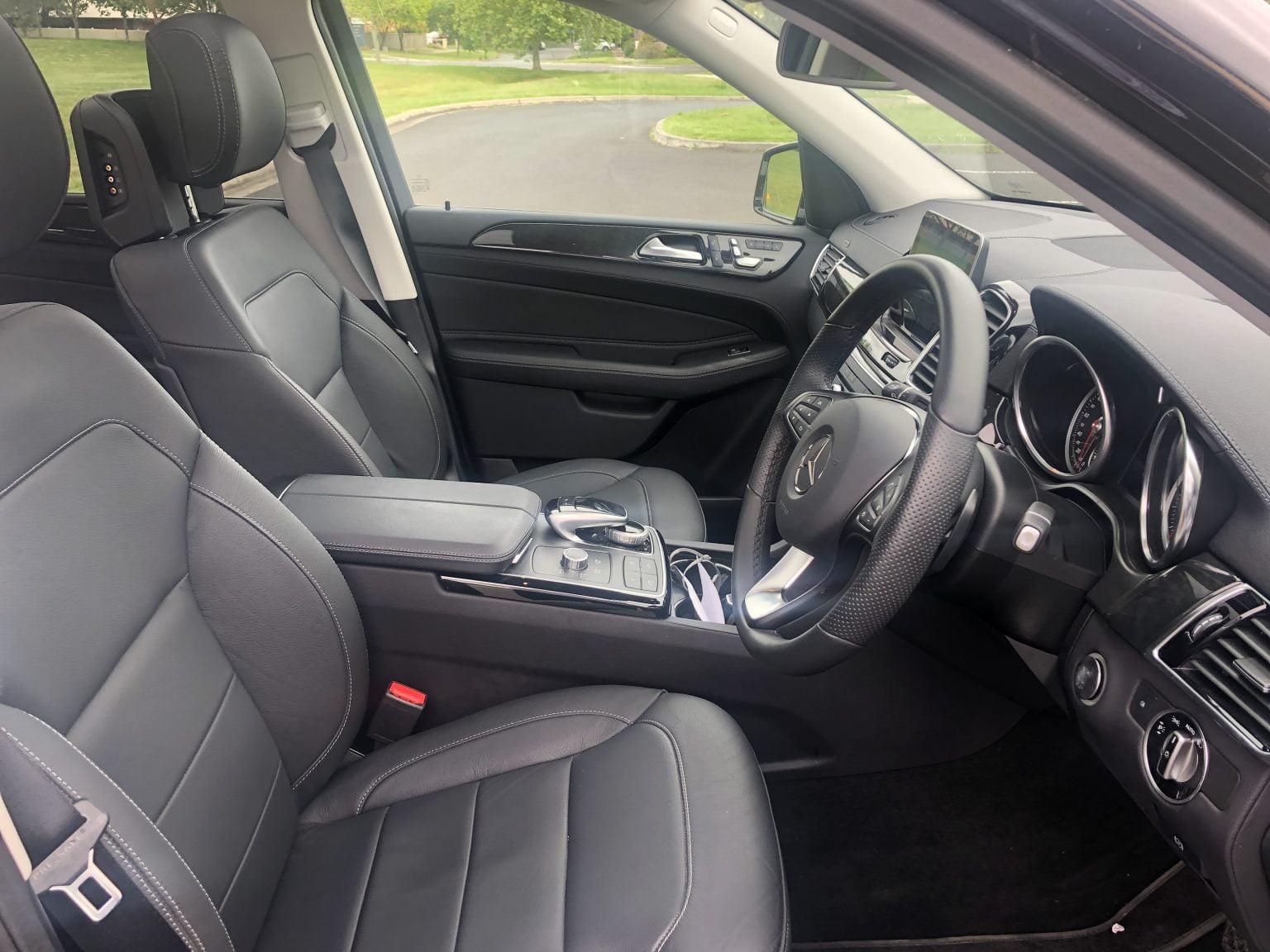 Mercedes luxury SUV