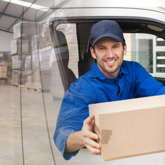 chauffeured parcel delivery services